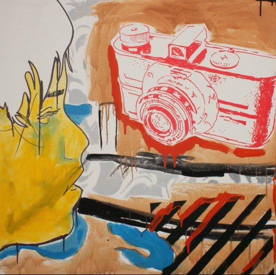 """Single Lens Reflex"" Art Print"