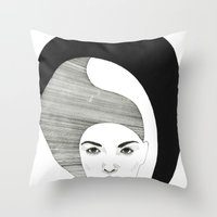 Fashion Illustration 4  Throw Pillow