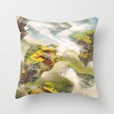 Windswept Heath Throw Pillow