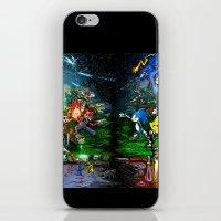 Nintendo Vs Sega iPhone & iPod Skin