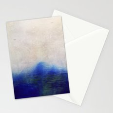 blue blur Stationery Cards