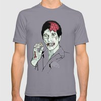 Zombie Al Pacino Scarface  Mens Fitted Tee Slate SMALL