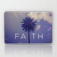Palm Tree Faith Laptop & iPad Skin