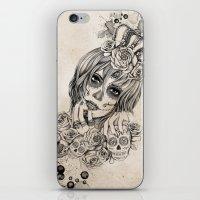 Sugar Skull Queen iPhone & iPod Skin