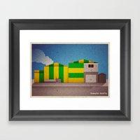Breaking Bad - Hazard Pa… Framed Art Print