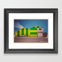 Breaking Bad - Hazard Pa… Framed Art Print