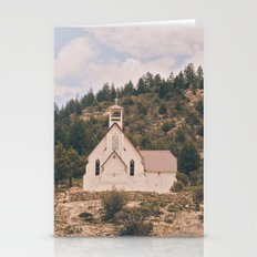 Old Church on a Hill Stationery Cards