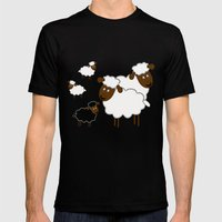 The Black Sheep Mens Fitted Tee Black SMALL