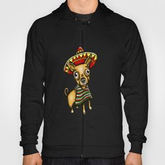 Mexican Chihuahua in Brown Hoody