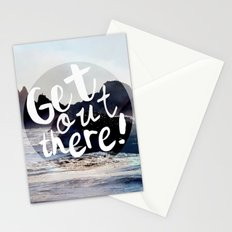 Get Out There! Stationery Cards