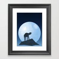 Howl at at the Moon Framed Art Print