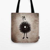 Evil Bug Wondering Tote Bag