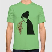 Jealousy Snaking Up Again Mens Fitted Tee Grass SMALL