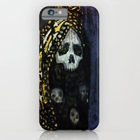 iPhone & iPod Case featuring The Virgin by Skeletal Noir