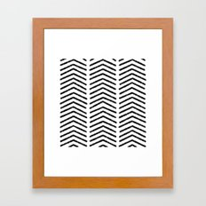 Graphic_Black&White #4 Framed Art Print