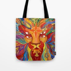 Lion's Visions Tote Bag