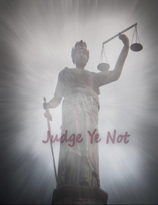 Judge Ye Not! Art Print