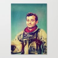 Space Murray Canvas Print