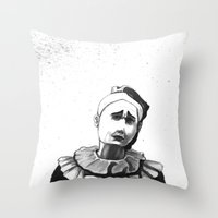 Mime  Throw Pillow