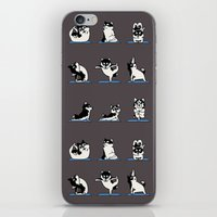 Husky Yoga iPhone & iPod Skin