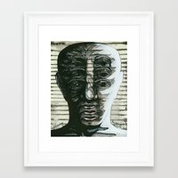 Who am I? Framed Art Print
