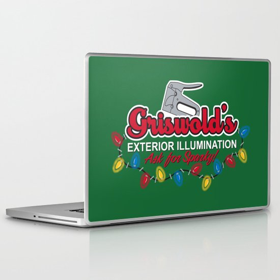 Griswold's Exterior Illumination Laptop & iPad Skin