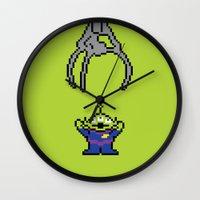Pixel Story Wall Clock