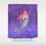 Ariel  Shower Curtain