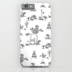 Black Toile Unicorn iPhone 6s Slim Case
