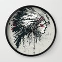 American Heritage (White) Wall Clock