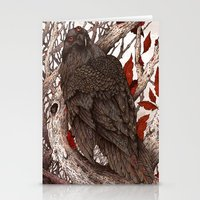 A Raven In Winter Stationery Cards