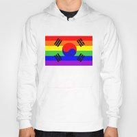 south korea gay flag Hoody