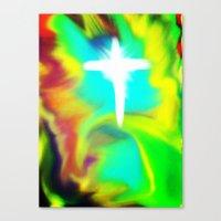 Rapture... A New Beginni… Canvas Print