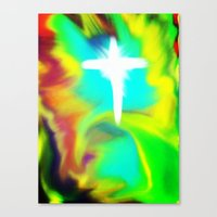 Rapture... A New Beginni… Canvas Print