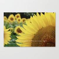 Here Comes The Sun. Canvas Print