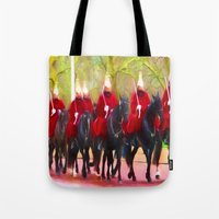The Queens Life Guards O… Tote Bag