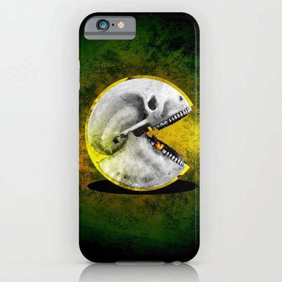 Skull Pacman iPhone & iPod Case