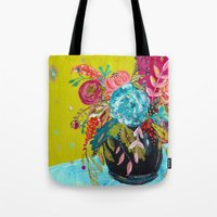 Bouquet Series no. 3 by Bari J. Tote Bag