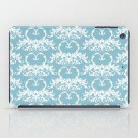 Blue Hearts iPad Case