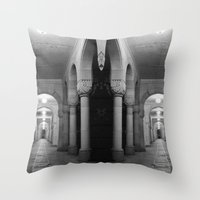Corridors Of Confusion Throw Pillow