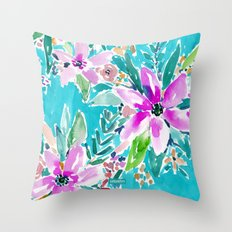 TROPICAL BENEVOLENCE Throw Pillow