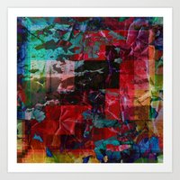 Vivid Prism Art Print