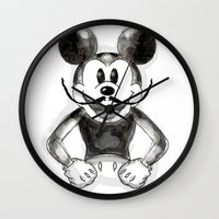 Hey Mickey Wall Clock