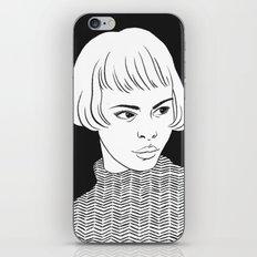 Chic Lady iPhone & iPod Skin