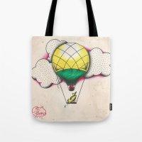Bird Balloon Tote Bag