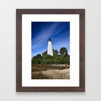 The Light House... Framed Art Print