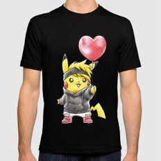 IHeart Birdychu Mens Fitted Tee Black SMALL