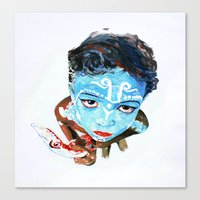 Hindu Boy Canvas Print