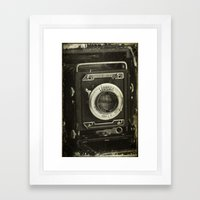 1949 Century Graphic Cam… Framed Art Print