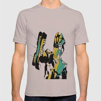 Classic Isaac Clarke. Mens Fitted Tee Cinder SMALL